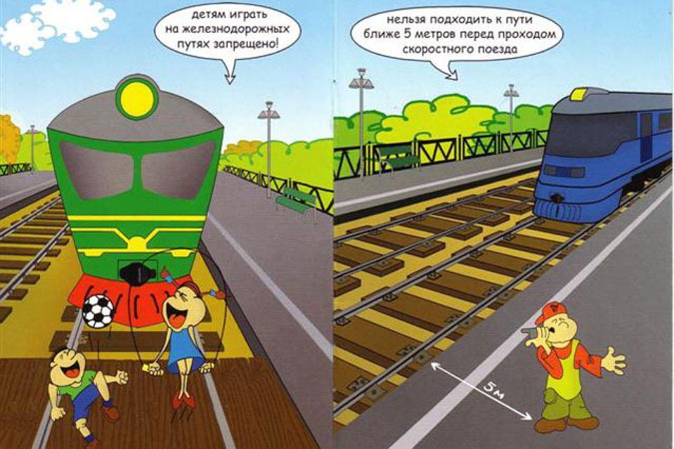 Железная дорога- зона повышенной опасности!