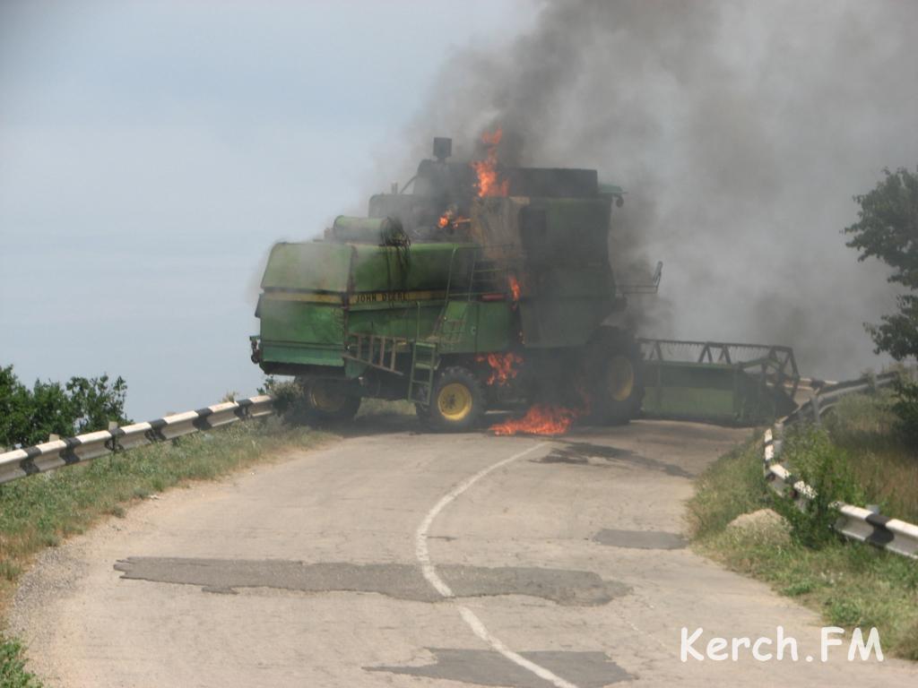 Пожарная безопасность при проведении уборочной кампании