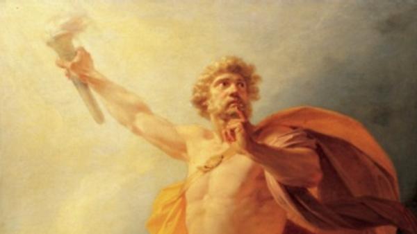 Почему Прометей был наказан свыше за помощь людям?