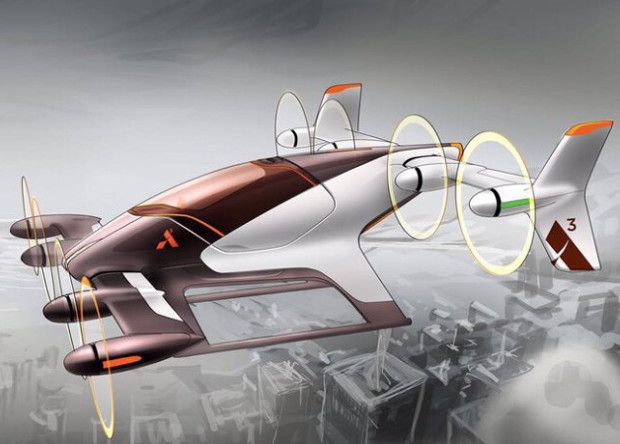 Airbus показал  концепт аэротакси