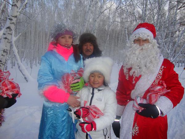 Новогодняя лыжная гонка на призы «Деда Мороза»