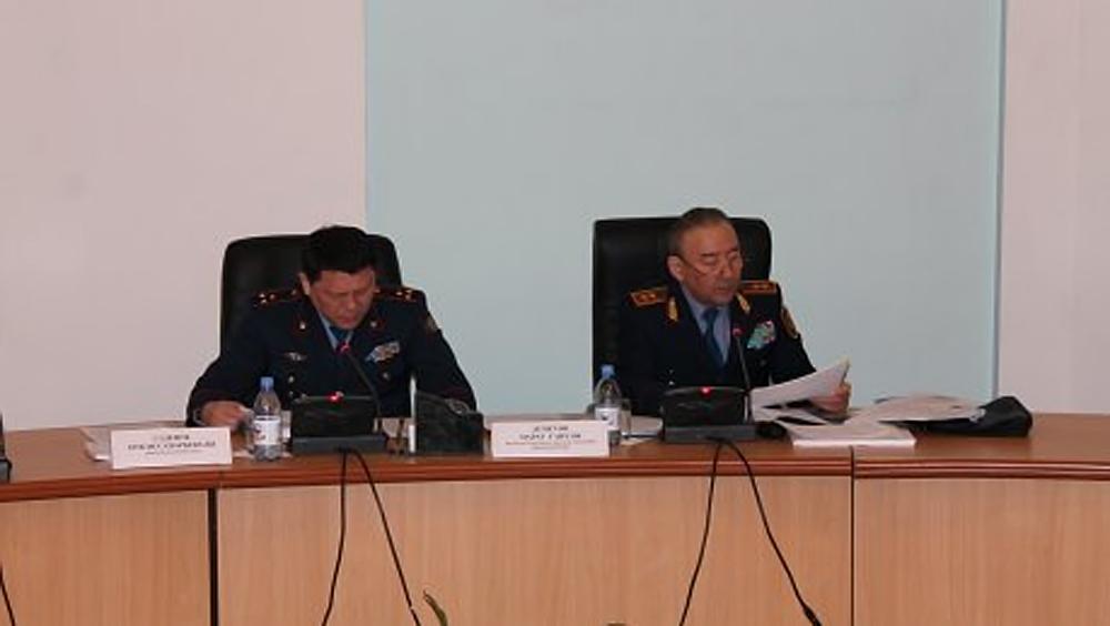В ДВД Акмолинской области подвели итоги года
