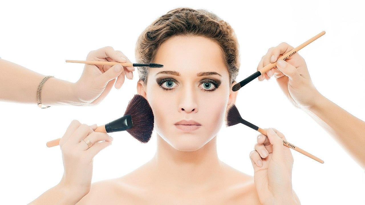 Признаки неправильного нанесения макияжа