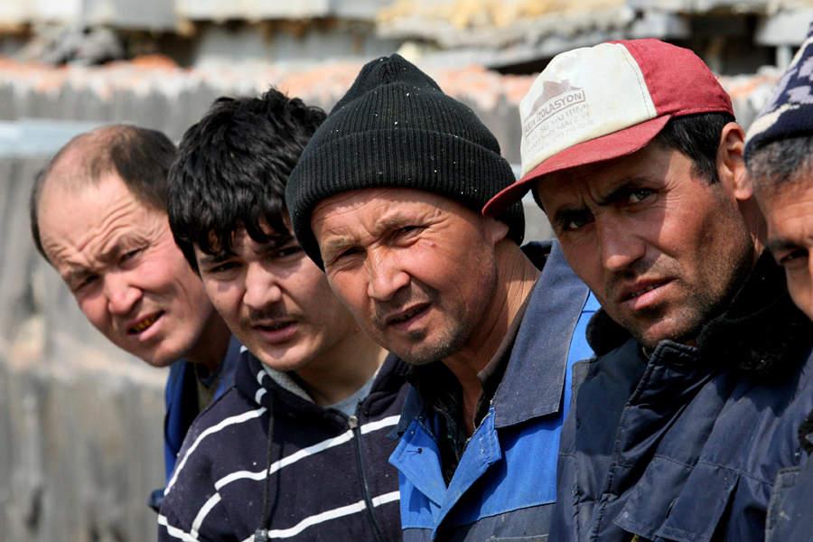 В Щучинске задержаны 50 нелегальных работников