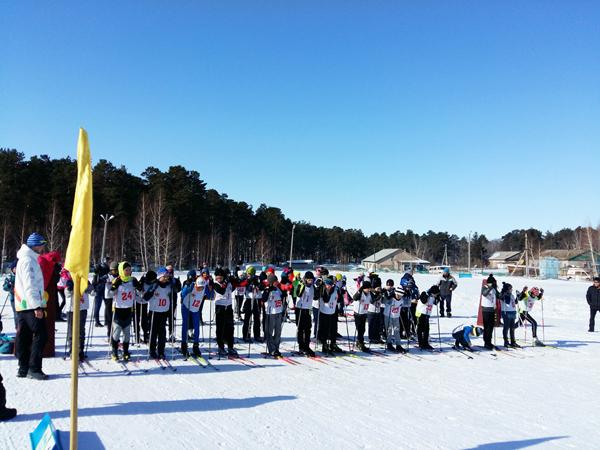 Соревнования по лыжным гонкам, посвященные празднику «Наурыз»