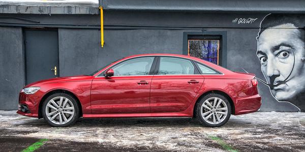 Первый тест-драйв Audi A6 restyled: ЭВМ