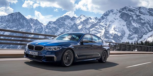 «м»-строчная. Тест-драйв BMW 550i