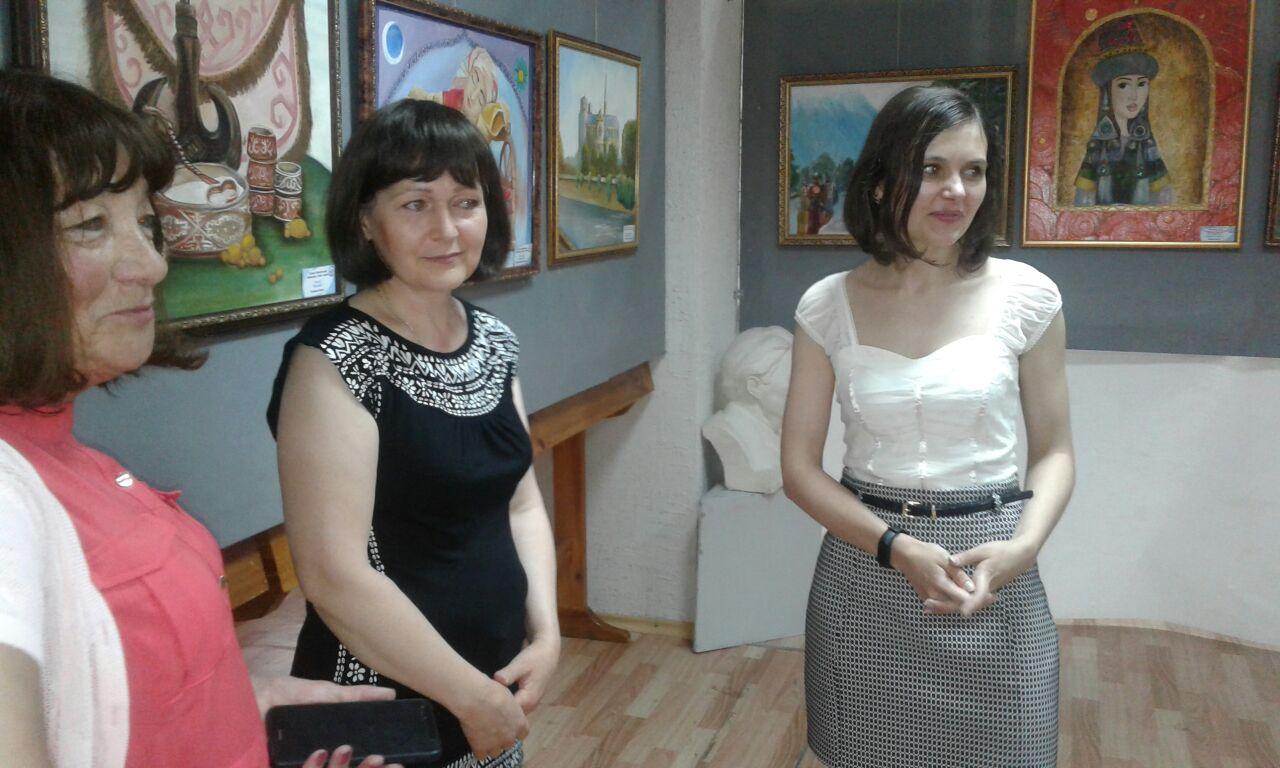 Отчетная выставка творческих работ