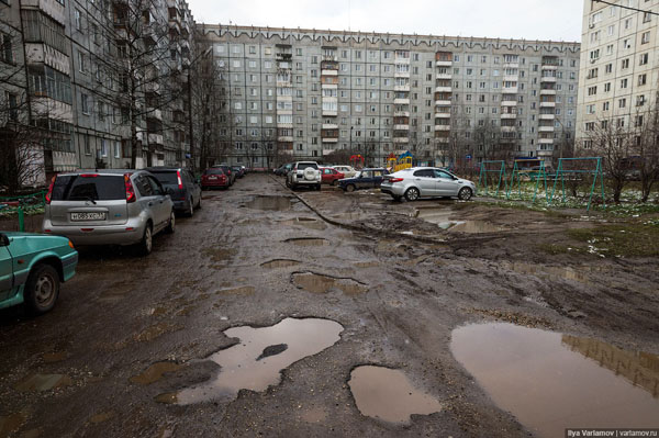 Откуда в наших городах берётся грязь?