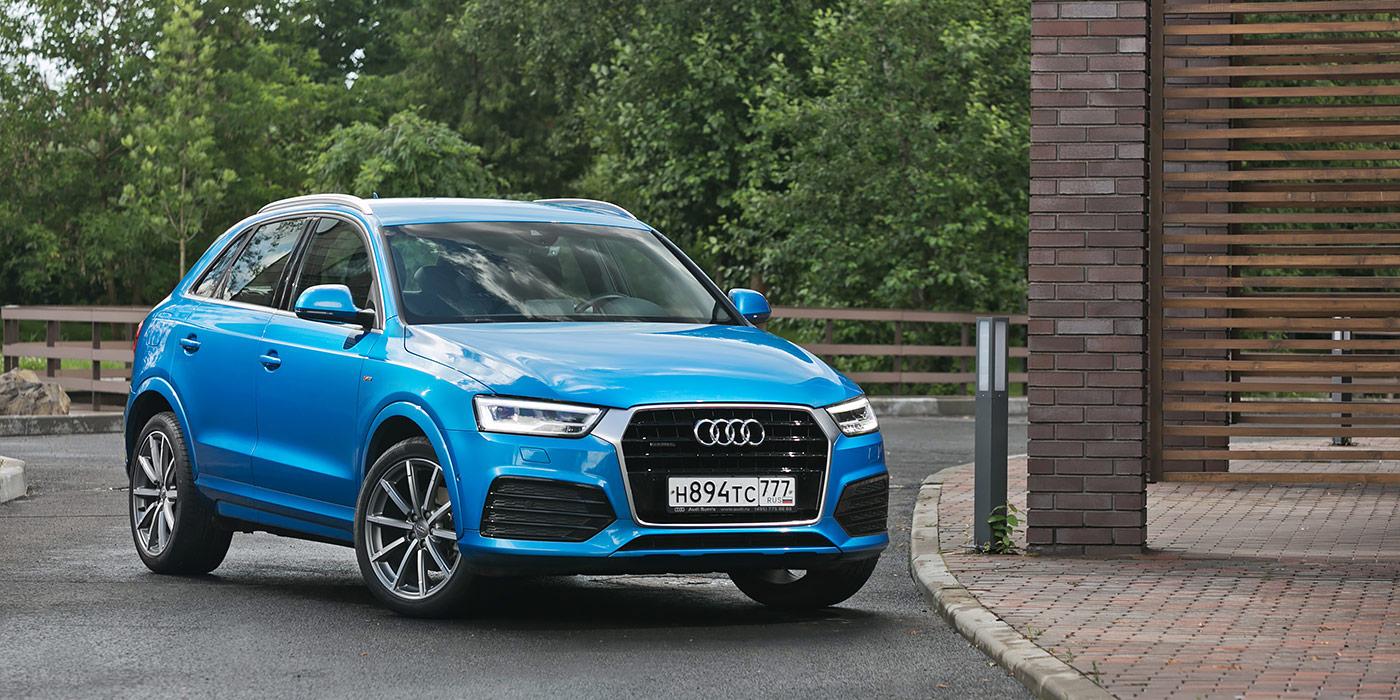Серьезные отношения. Тест-драйв Audi Q3