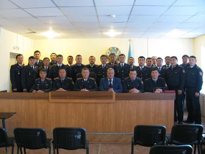 Подразделениям криминальной полиции МВД Казахстана 99 лет