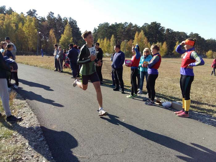 Легкоатлетический кросс «Золотая осень», посвященный 20-летию основания столицы РК г.Астаны