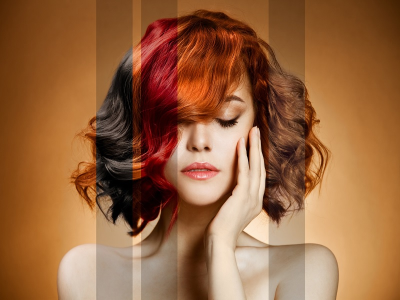 Секреты окраски волос