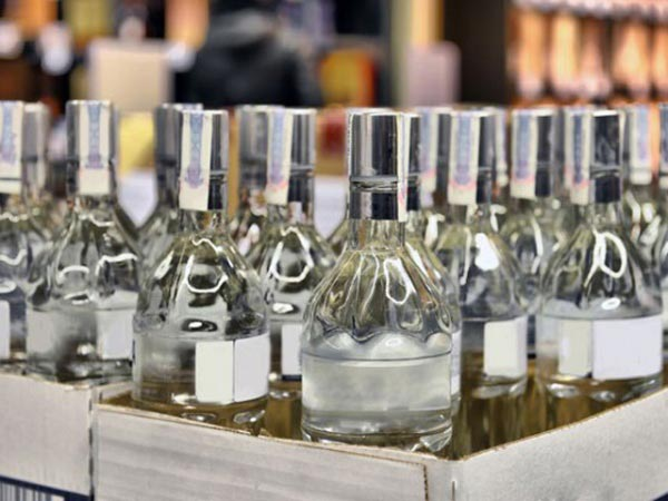 Уничтожен контрафактный алкоголь