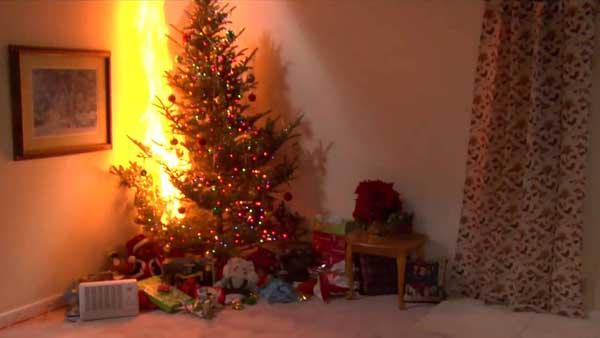 В период празднования Нового года соблюдайте меры и правила пожарной безопасности