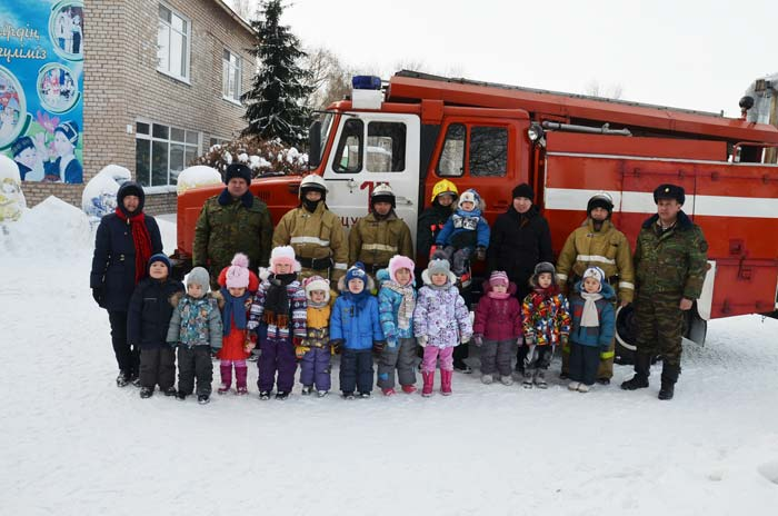Пожарно-тактические задачи в детском саду «Акбота»