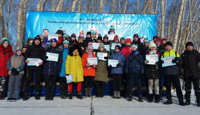 Памяти тренеров посвящается лыжная гонка