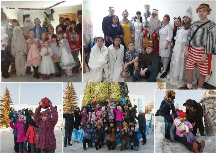 Зимние каникулы в «Армане»