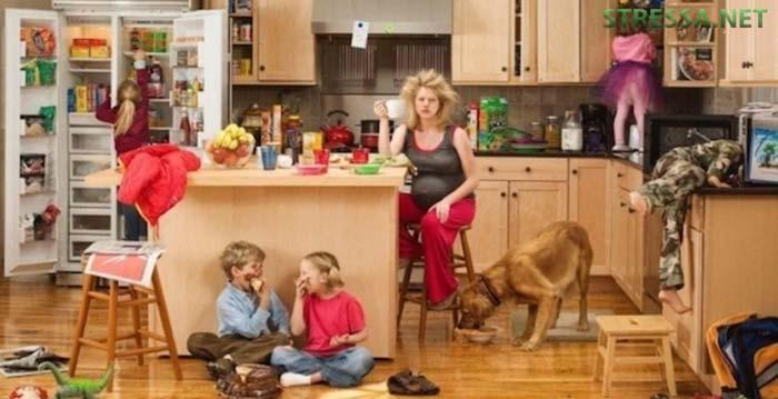 Идеальные дети вырастают у неидеальных мам