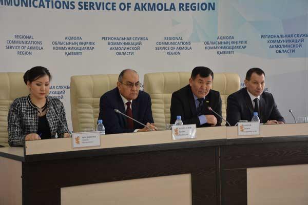 Председатель Акмолинского областного суда провел пресс-конференцию о задачах судебной системы и по разъяснению вопросов модернизации уголовного процесса
