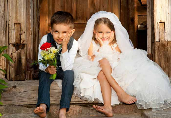 Мама, папа, а мы женимся!