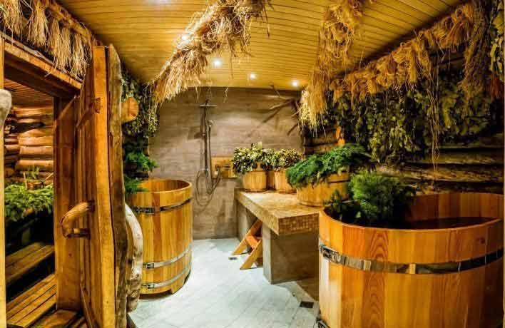 Применение лекарственных трав в бане