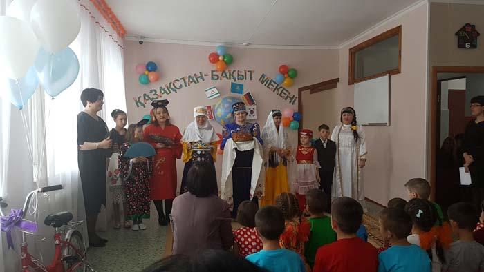 День благодарности в центре реабилитации детей