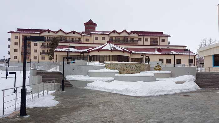 Первые лыжные гонки прошли в г.Щучинске