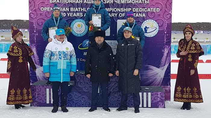 Открытый чемпионат Азии по биатлону