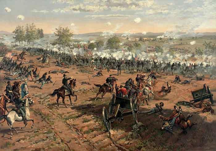 Из-за чего в Америке началась гражданская война?