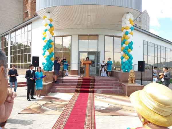 Открытие комплекса «Агажан»
