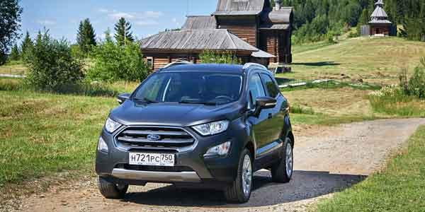 Свет, камера, мотор. Тест-драйв обновленного Ford Eco Sport