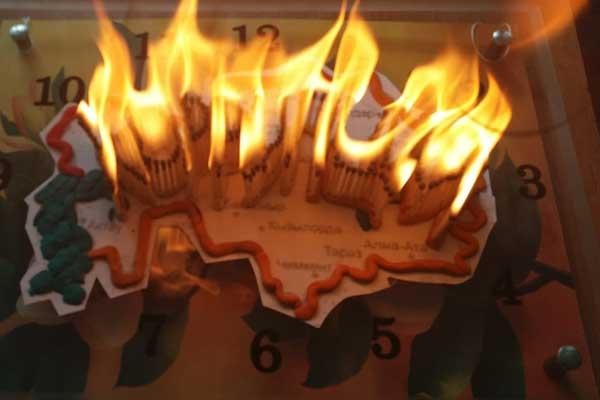 В Акмолинской области прошел конкурс инсталляций  «Адал бол, жемқорлықтан ада бол!»