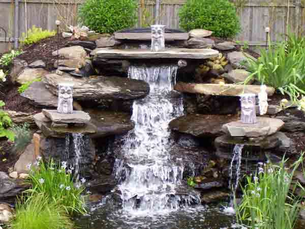 Водопады и каскады