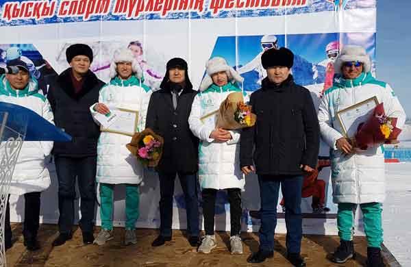 Порядка 3000 акмолинцев участвовали на Фестивале зимних видов спорта