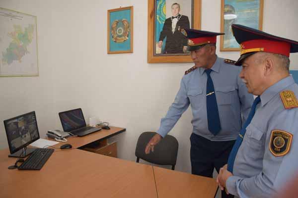 Современные участковые пункты полиции появились в селах Акмолинской области