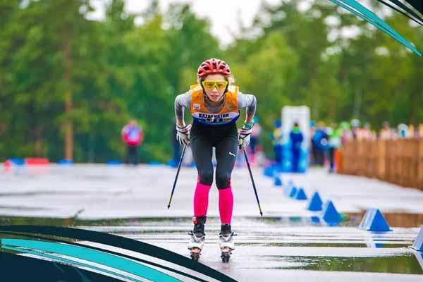 Завершены соревнования летнего Чемпионата Казахстана по лыжным гонкам