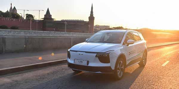 По России ездит китайский электрокар. Чем нам интересен новый бренд