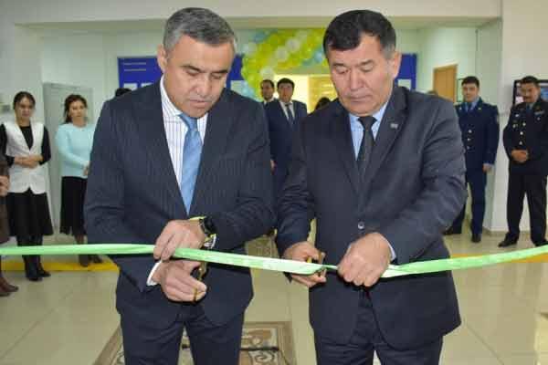 Открытие фронт-офиса в Бурабайском суде